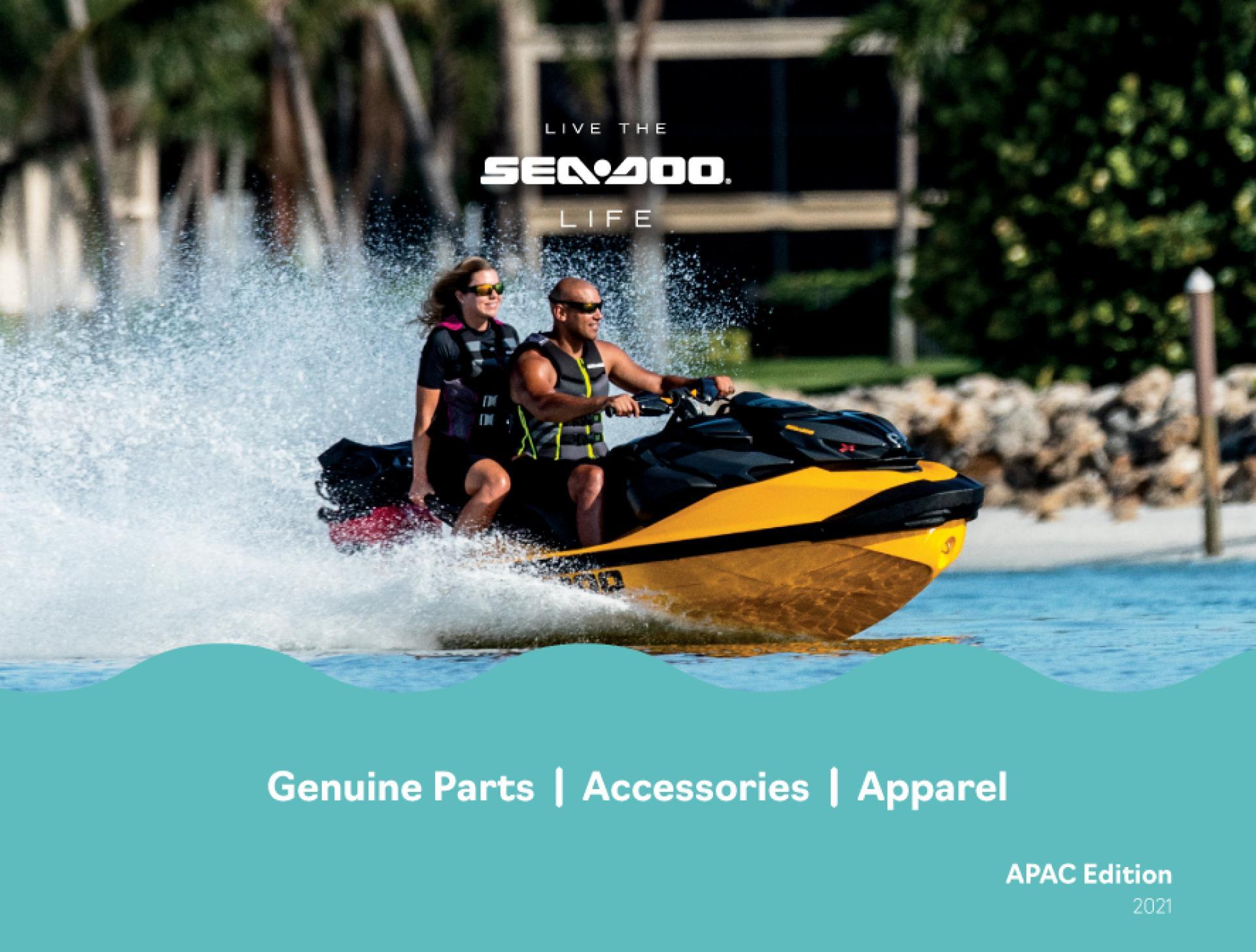 Sea-Doo Accessories Cover Image